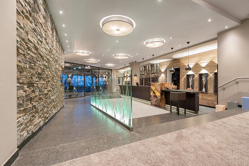 Eingangsbereich Ski- & Golfresort Hotel Riml