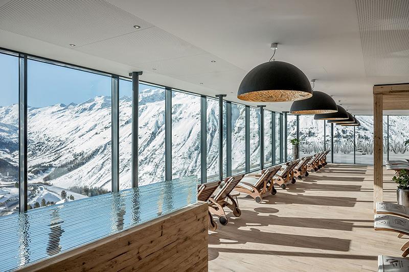 Wellnessbereich Ski- & Golfresort Hotel Riml