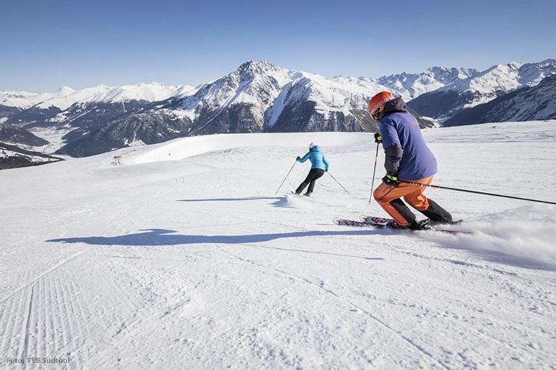 Skifahren im Vinschgau