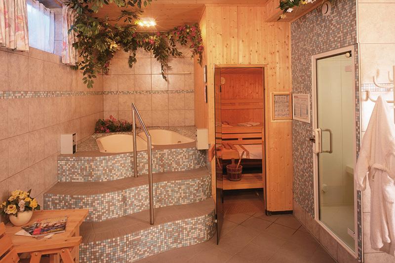 Camping Sauna in Südtirol