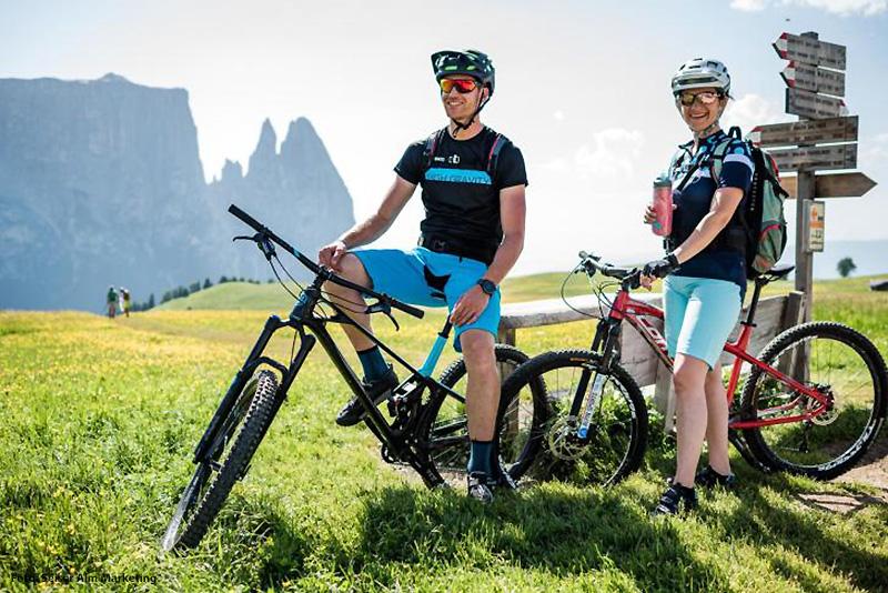 Mit dem Bike durch Südtirol