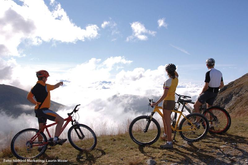 Mountainbiken im Meraner Land