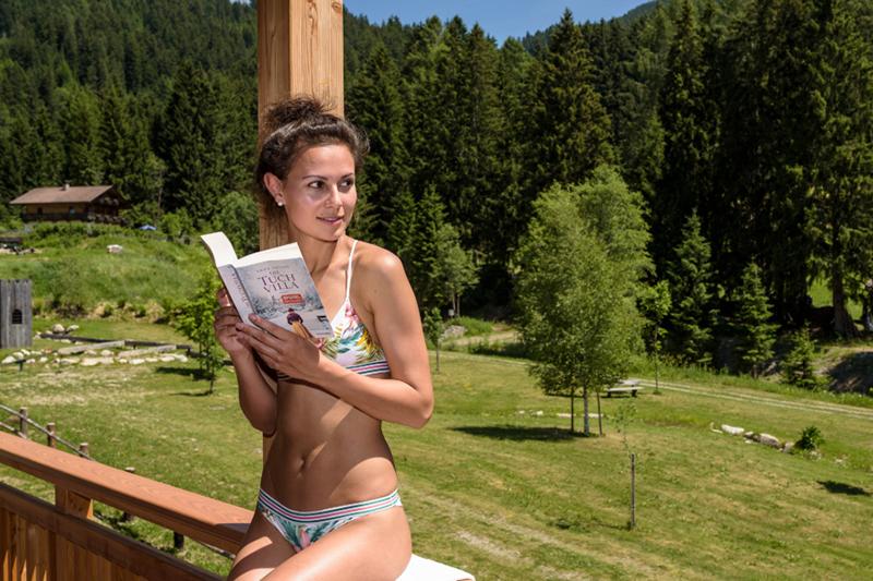 Zeit für sich finden im Wellnesshotel Stoll im Gsiesertal in Südtirol