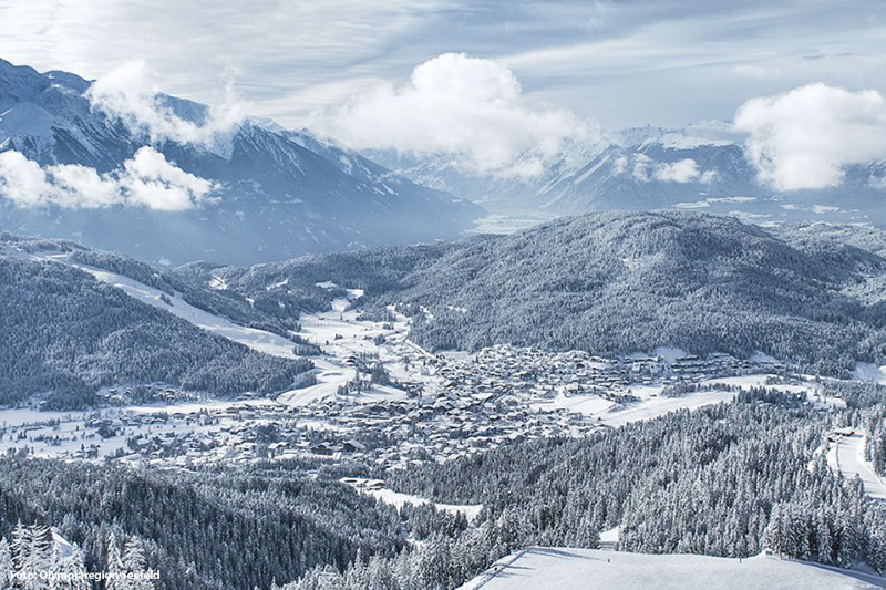 Winterlandschaft Seefeld