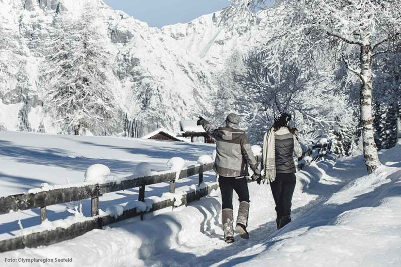 Winterwandern in Seefeld