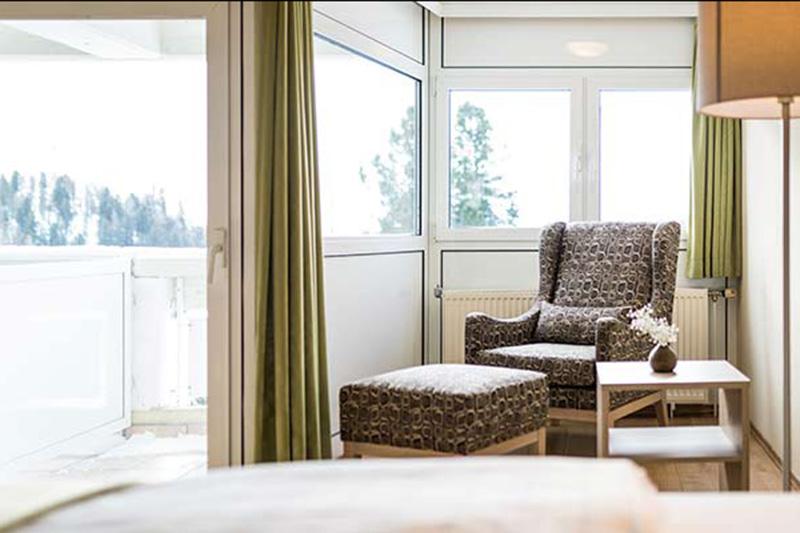 Familienzimmer mit Blick auf den See