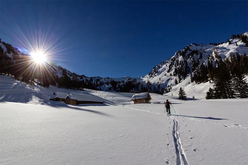 Skitouren am Wilden Kaiser in Tirol