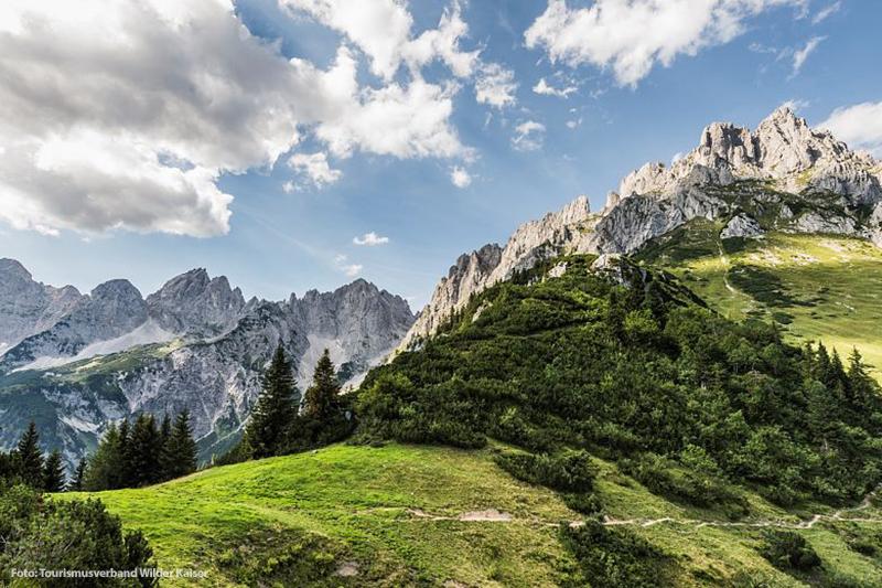Wandern: Tirol und die Region Wilder Kaiser erkunden