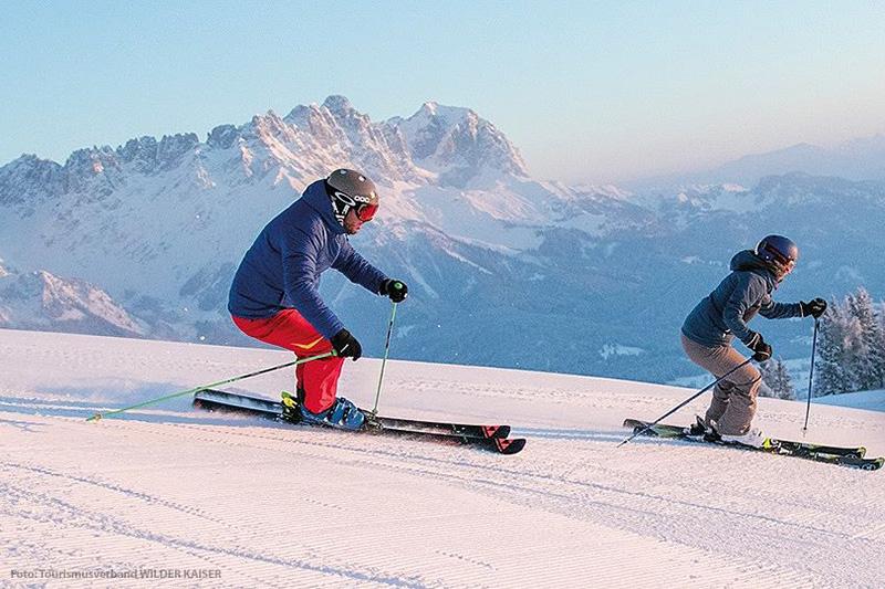 Skiurlaub am Wilden Kaiser