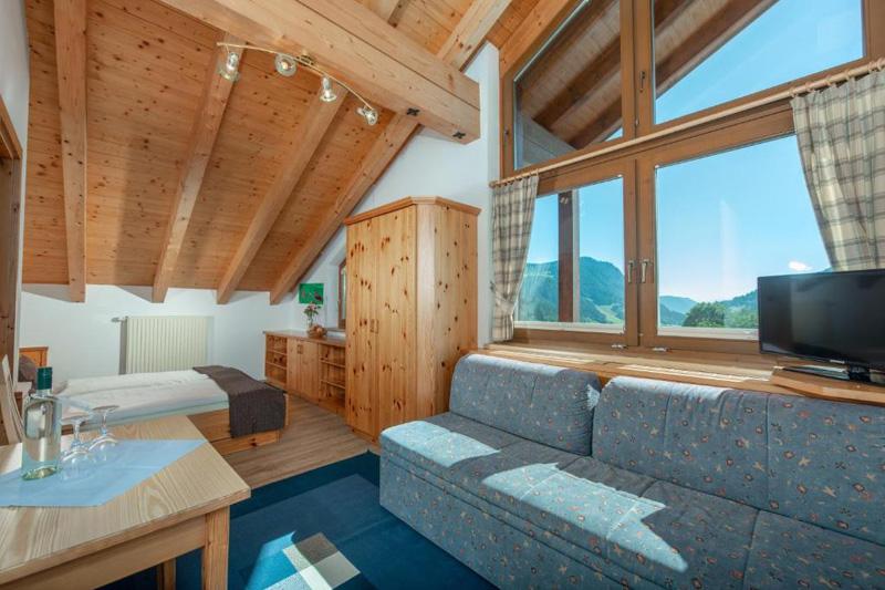 Familienzimmer Gasselhöhe mit 2 Schlafzimmern für 2 - 5 Personen