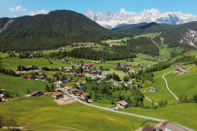 Unterreith-Forstau-Ortsansicht
