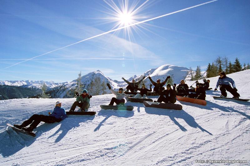 Unterreith-Snowboardkurs