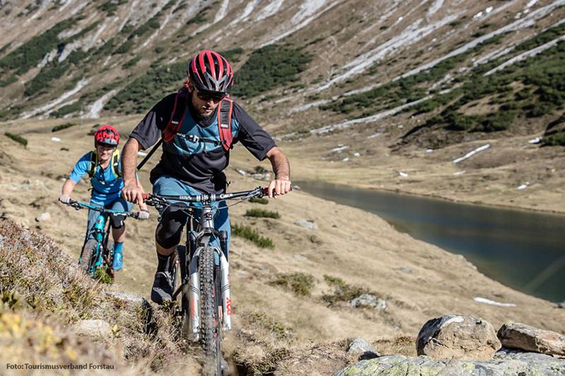 Für alle Mountainbike-Begeisterten gibt es in Forstau viele Möglichkeiten