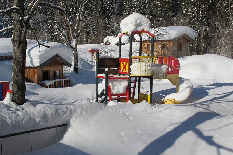 Spielplatz am Hotel Unterreith