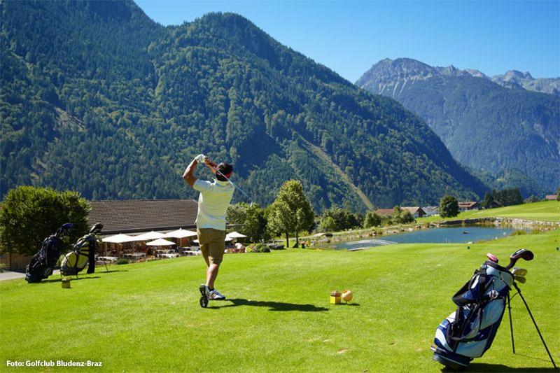 Golfurlaub in der Alpenregion Bludenz