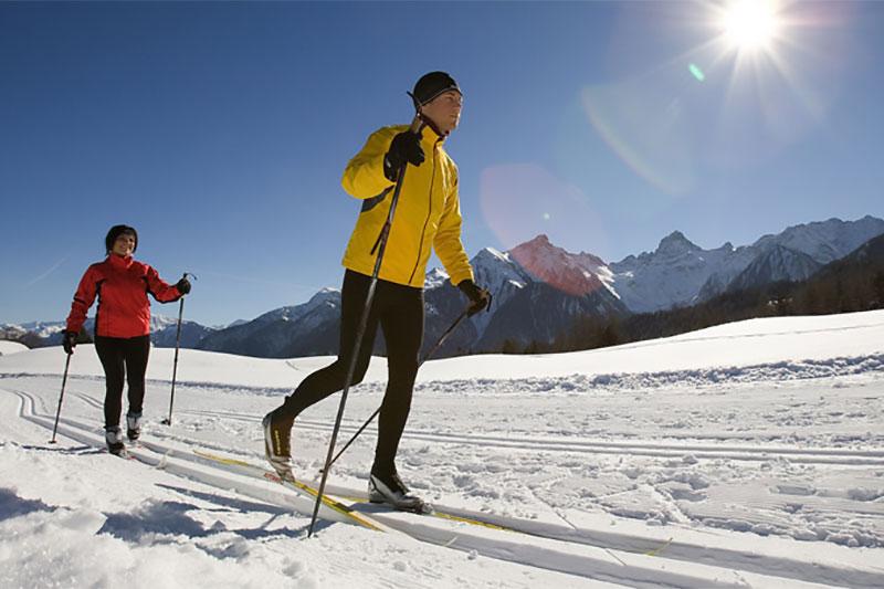 Langlaufen in der Alpenregion Bludenz