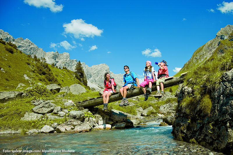 Wanderparadie Alpenregion Bludenz
