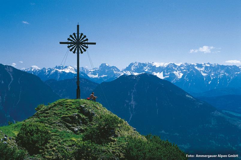 Wanderurlaub im Naturpark Ammergauer Alpen