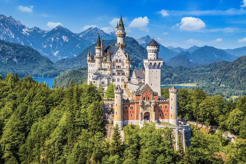 40 Minuten zum Schloss Neuschwanstein