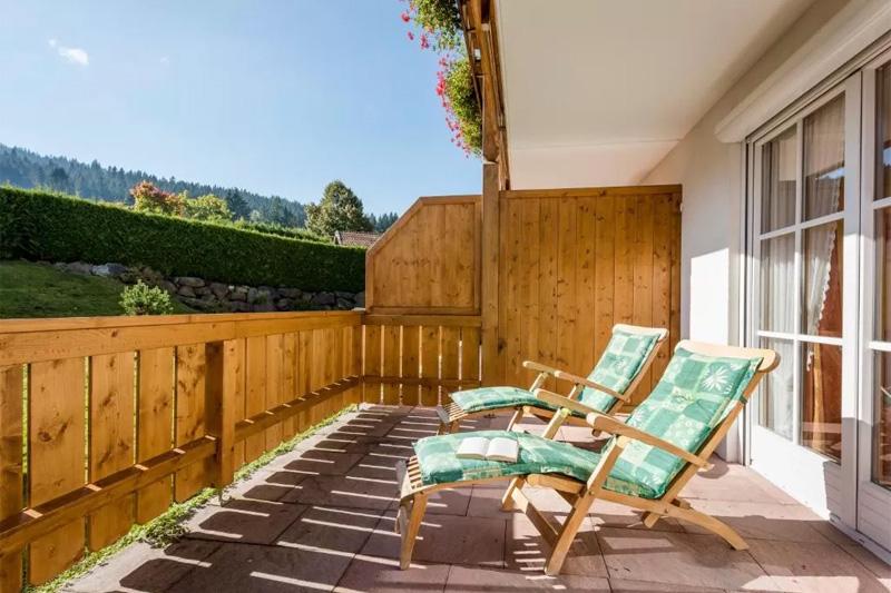 Zimmer mit Terrasse oder Balkon