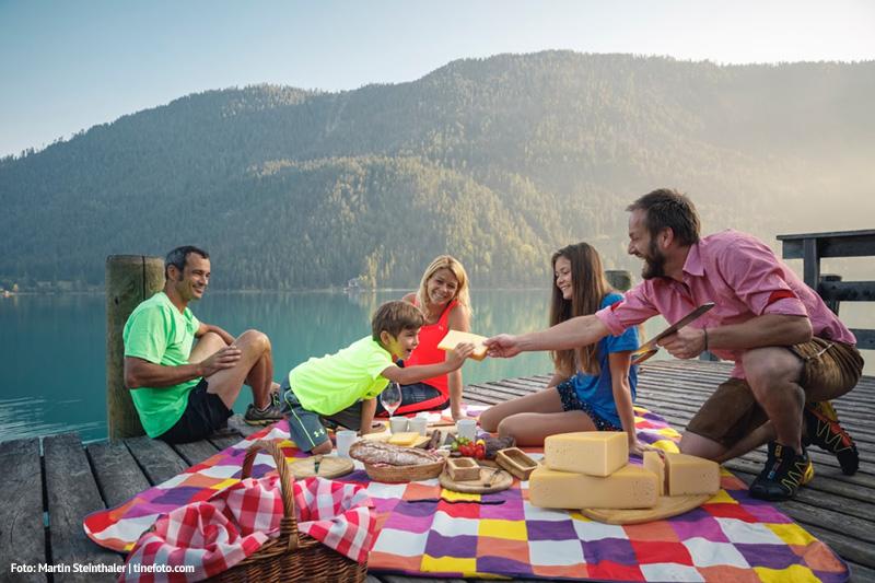 Familienurlaub am Weissensee in Kärnten