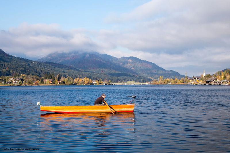 Angeln im saubersten See Kärntens