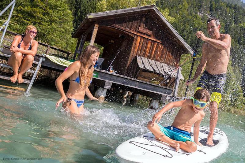 Aktivurlaub am See in Kärnten