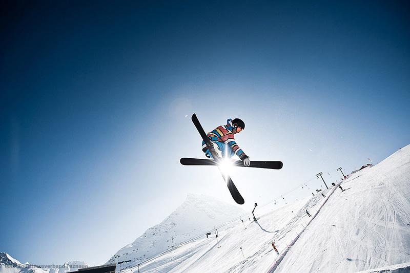 Skiaction in Galtür, Silvretta-Paznaun