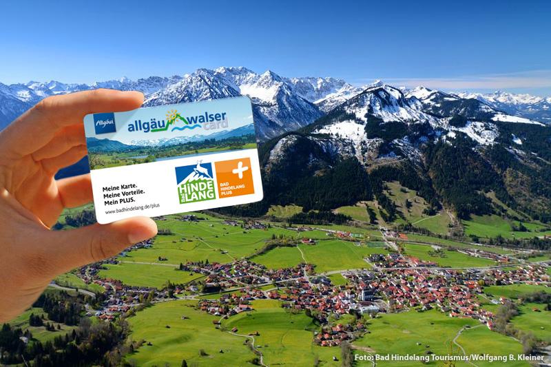 Für Dich inklusive! Die Bad Hindelang PLUS ist Deine Gästekarte für Urlaub im Allgäu
