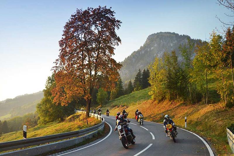 Jochpassrennen zwischen Bad Hindelang und Oberjoch - Biker sind im Hotel Zum Senn herzlich willkommen