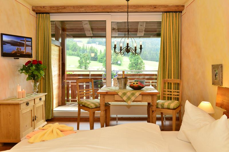 Doppelzimmer mit Panoramablick für 2-3 Personen (ca. 26 m²)
