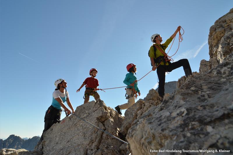 Familienfreundliches Klettern in Bad Hindelang und Oberjoch