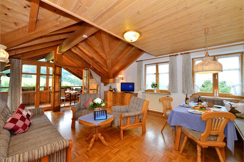 Junior-Suite Wohnraum