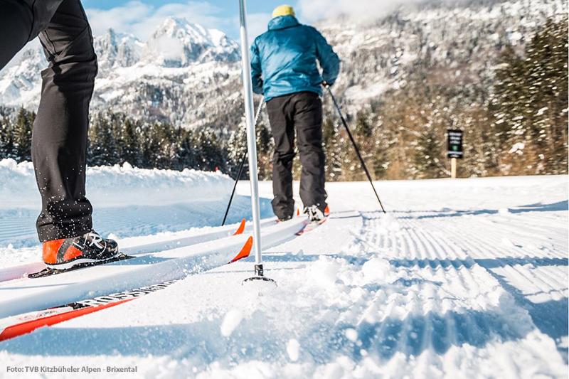 Langlaufen in St. Johann in Tirol