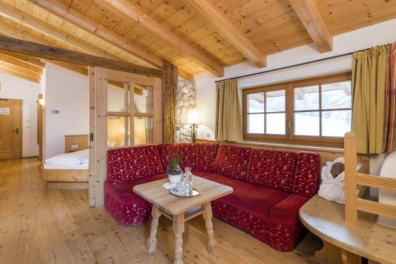 Natursuite Ringelblume 46m² im Naturellness Hotel Lüsnerhof in der Ferienregion Eisacktal in Südtirol