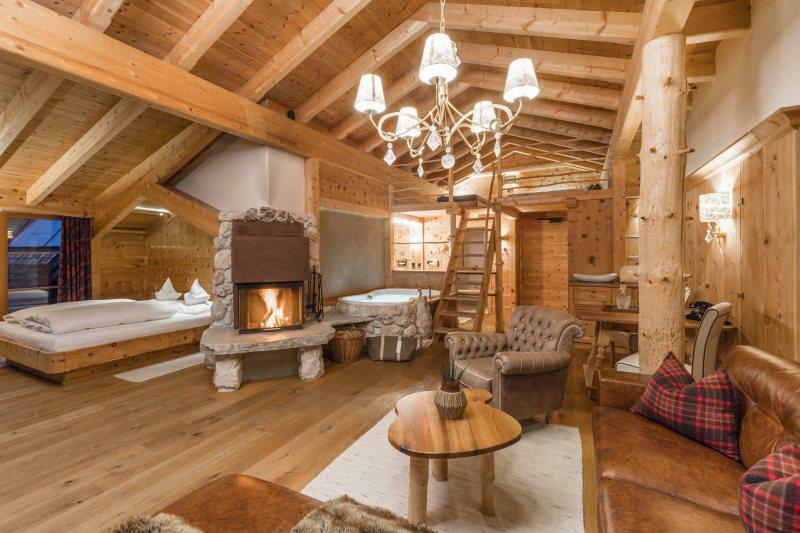 Wellness Suite Auralpina 80m² im Natur- und Wellnesshotel - Naturellness - Lüsnerhof in Südtirol
