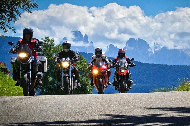 Motorradurlaub in den Dolomiten