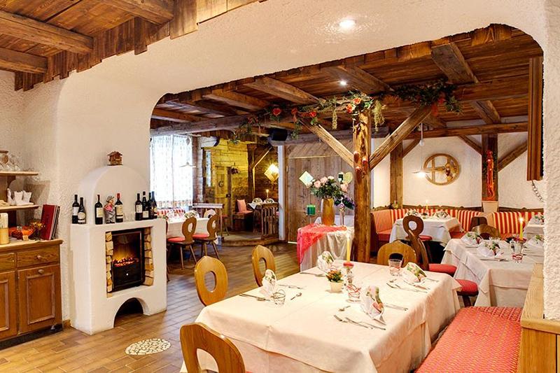 Südtiroler Spezialitäten warten im Restaurant
