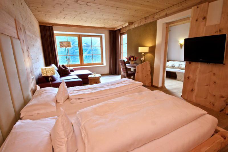 Familiensuite Löwenzahn 46m² im Familienhotel Lüsnerhof in Südtirol