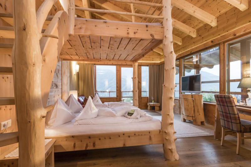 Panoramasuite 45m²  im Naturhotel Lüsnerhof in Südtirol