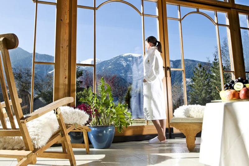 Mehr Ruhe geht nicht! Die Ruheräume überzeugen durch natürliches Design und Licht mit bestem Panorama