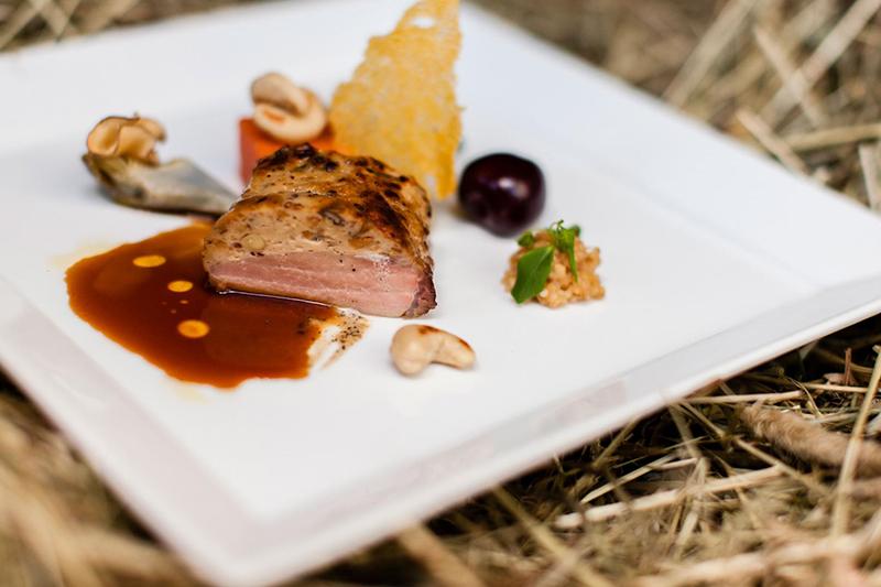 Das Herzstück des Genusshotels Falzeben bei Meran ist das kulinarische Können des langjährigen Küchenchefs Günther