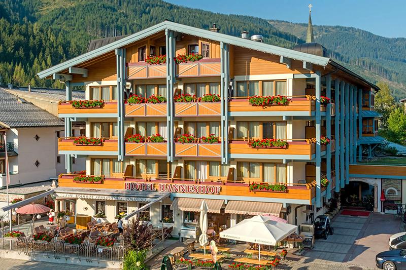 Sommerurlaub im Hanneshof Resort in Filzmoos