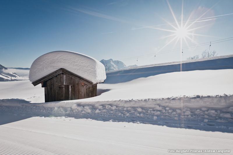 Das PillerseeTal ist die schneereichste Region Tirols