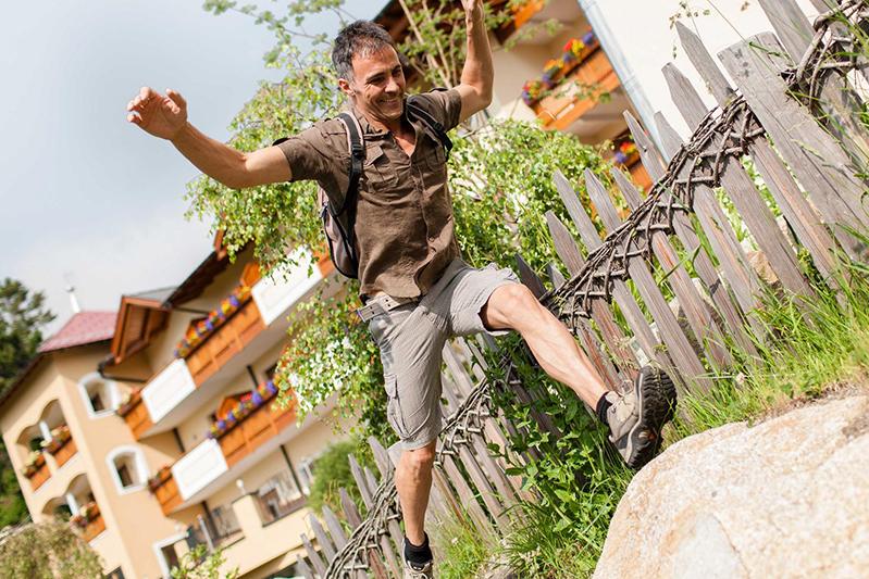 Lebensfreude pur im Wohlfühlhotel Falzeben am Wandergebiet Meran 2000 in Südtirol