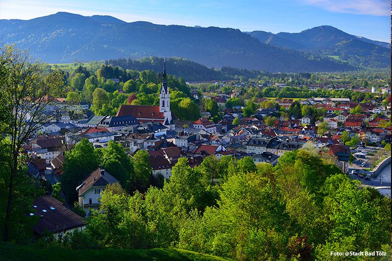 Bad Tölz hat ca. 18.000 Einwohner