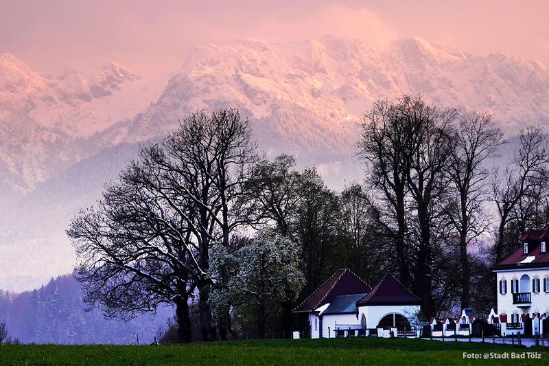 Bad-Toelz-Alpenpanorama