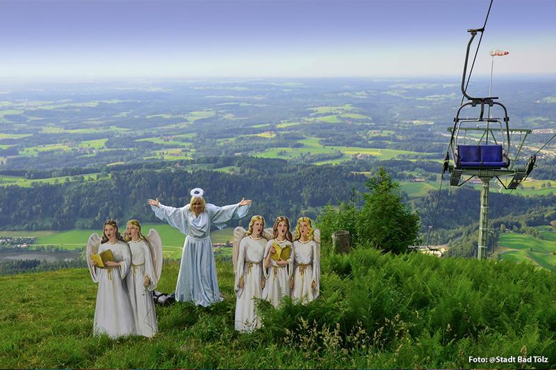 Naturschauspiel auf dem Blomberg