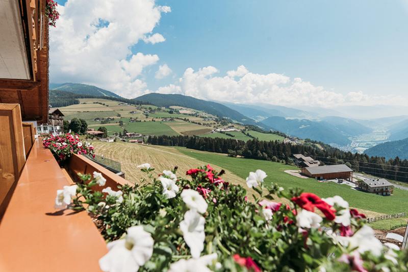 Atemberaubende Aussichten aus dem Balkon