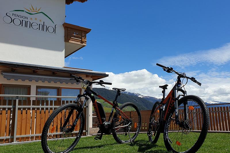 E-Bike Verleih direkt im Hotel